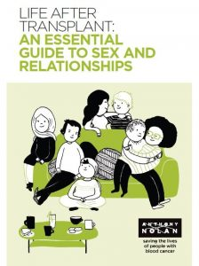 Life after transplant: an essential guide to sex and relationships book Woodbridge Therapy Ltd Hertfordshire