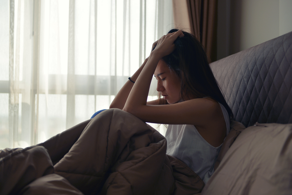 woman in pain during sex